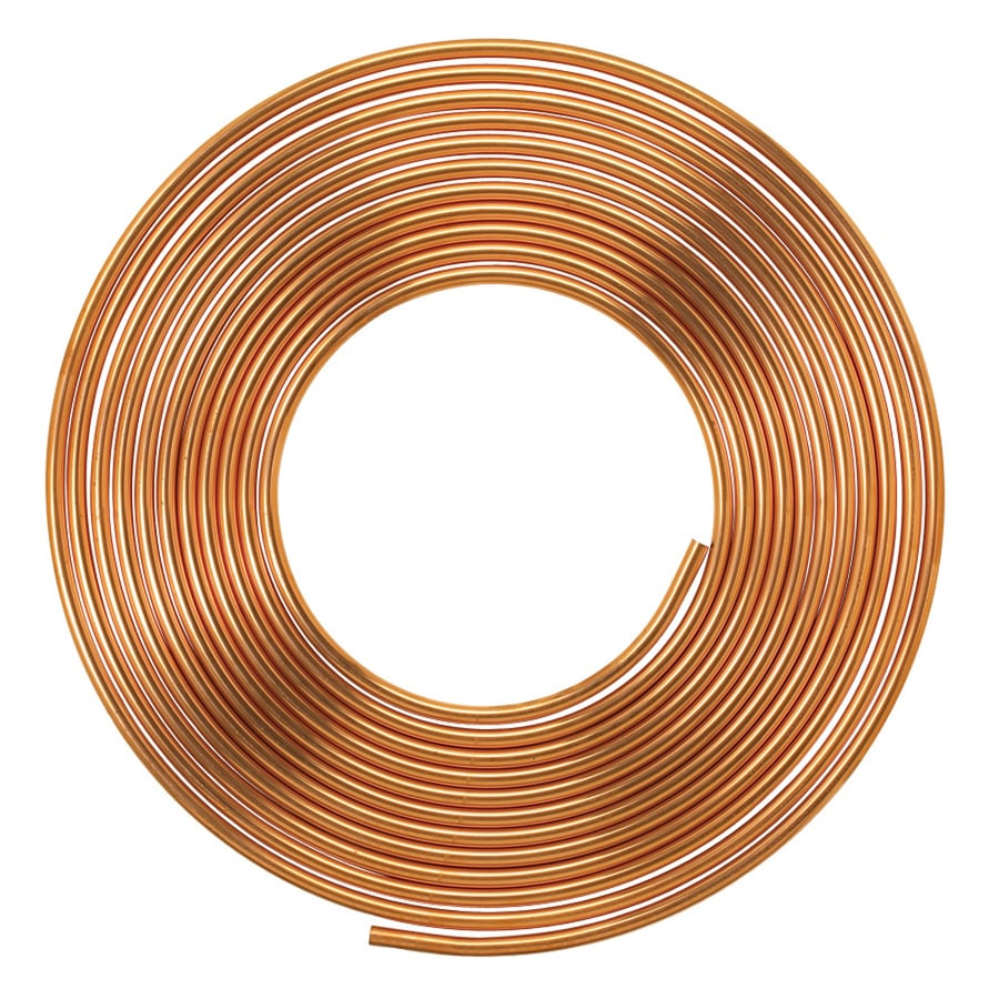 Mueller Streamline 1/4-in dia x 2-ft L Pipe Copper Pipe