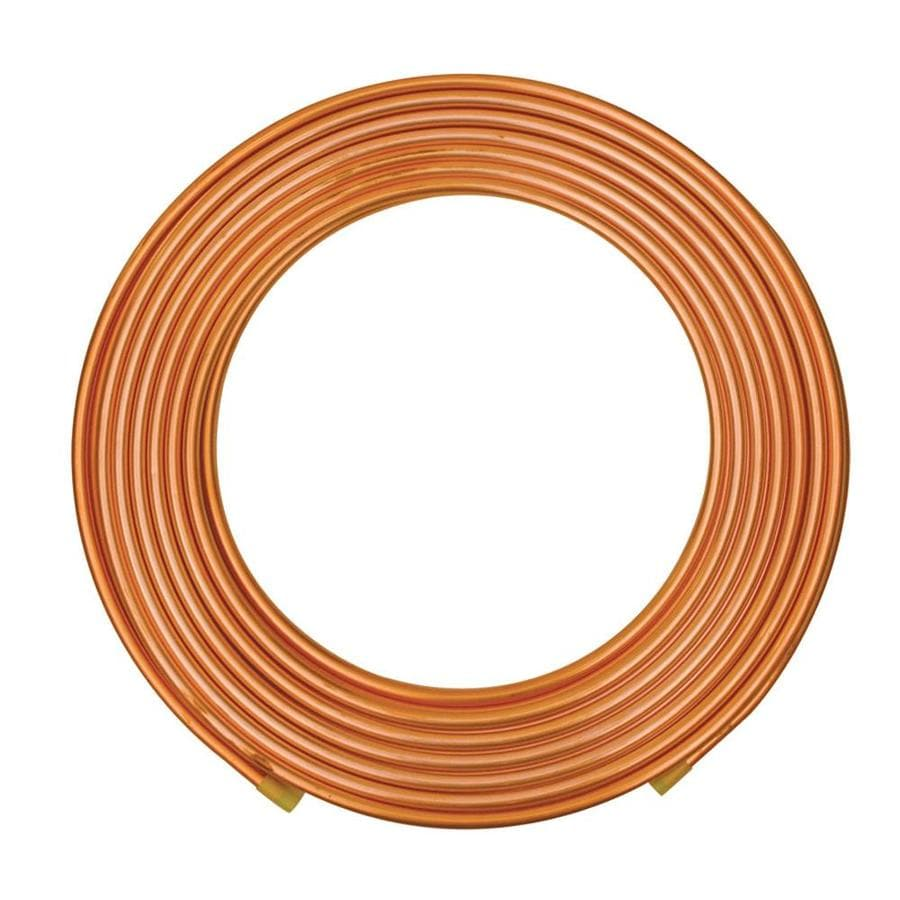 Mueller 1/2-in Dia x 50-ft L Coil Copper Pipe
