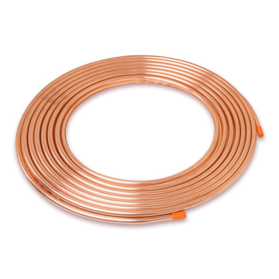 Mueller Streamline 3/8-in dia x 50-ft L Coil Copper Pipe