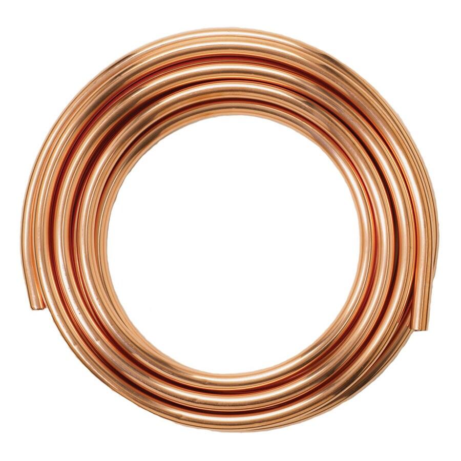 Mueller Streamline 1-in dia x 60-ft L Coil Copper Pipe
