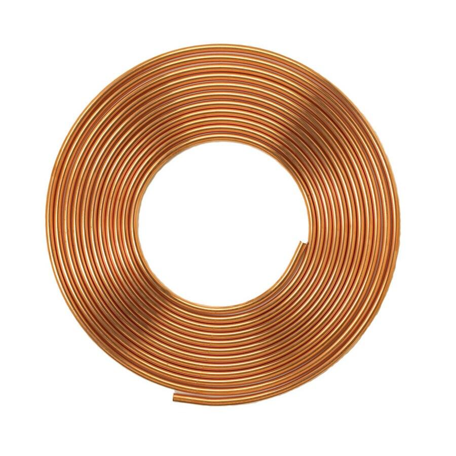 Mueller Streamline 1/2-in dia x 60-ft L Coil Copper Pipe