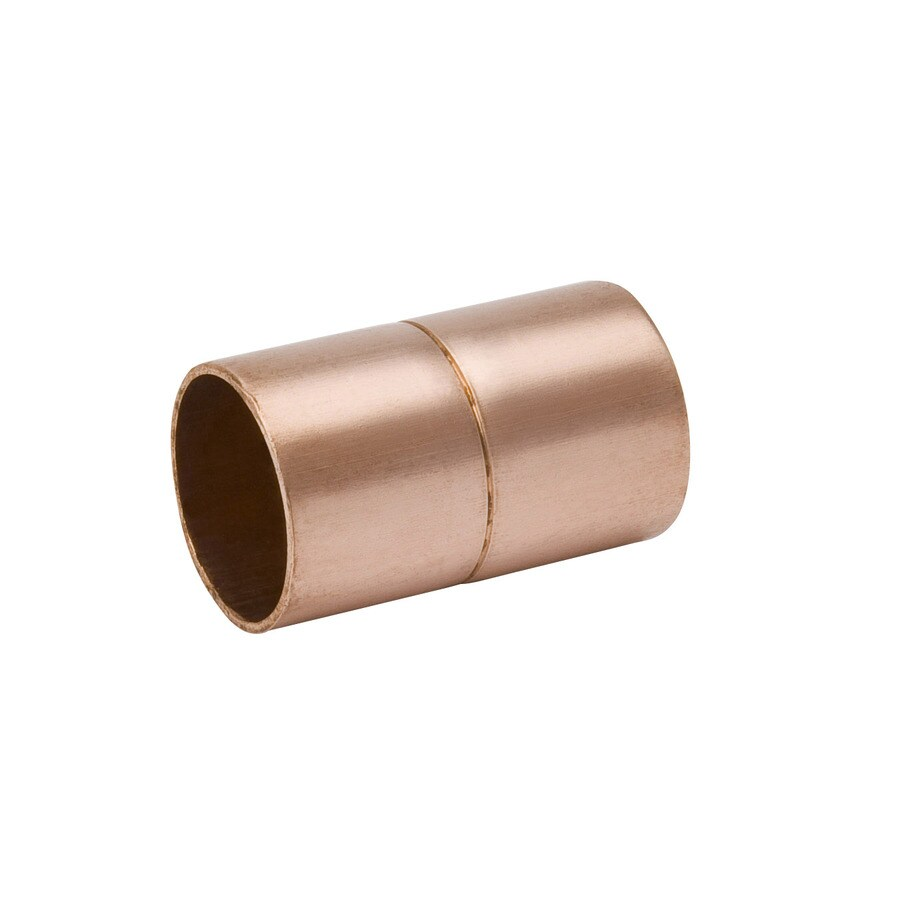 Mueller Streamline 25-Pack 1/2-in x 1/2-in Copper Solder Coupling Fittings