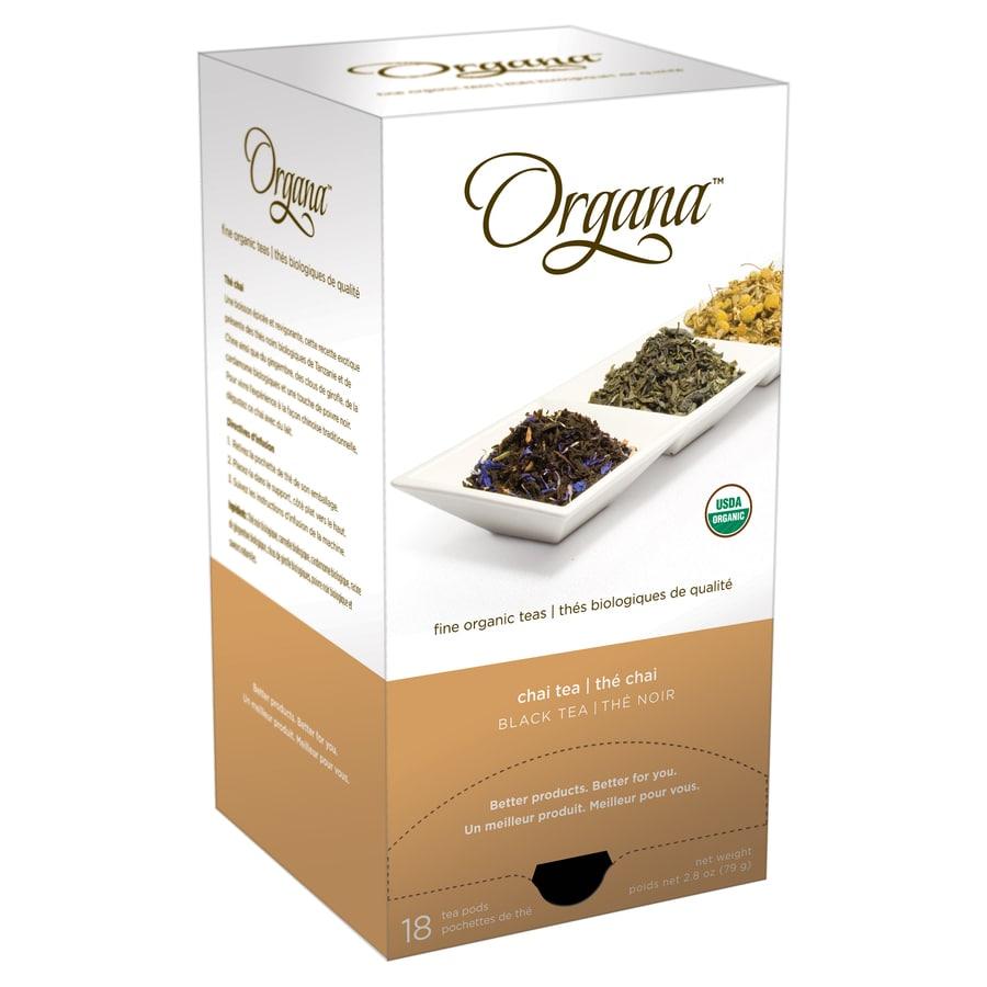 Organa 18-Pack Organa Chai Single-Serve Tea