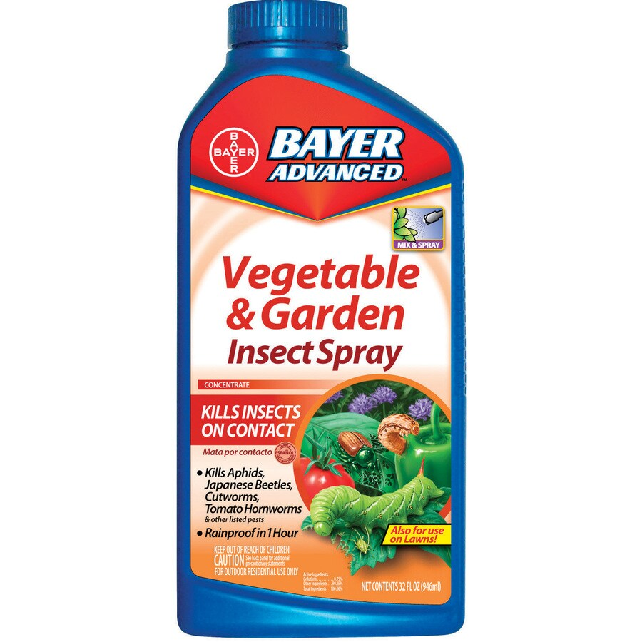 BAYER ADVANCED Vegetable and Garden Insect Spray Liquid