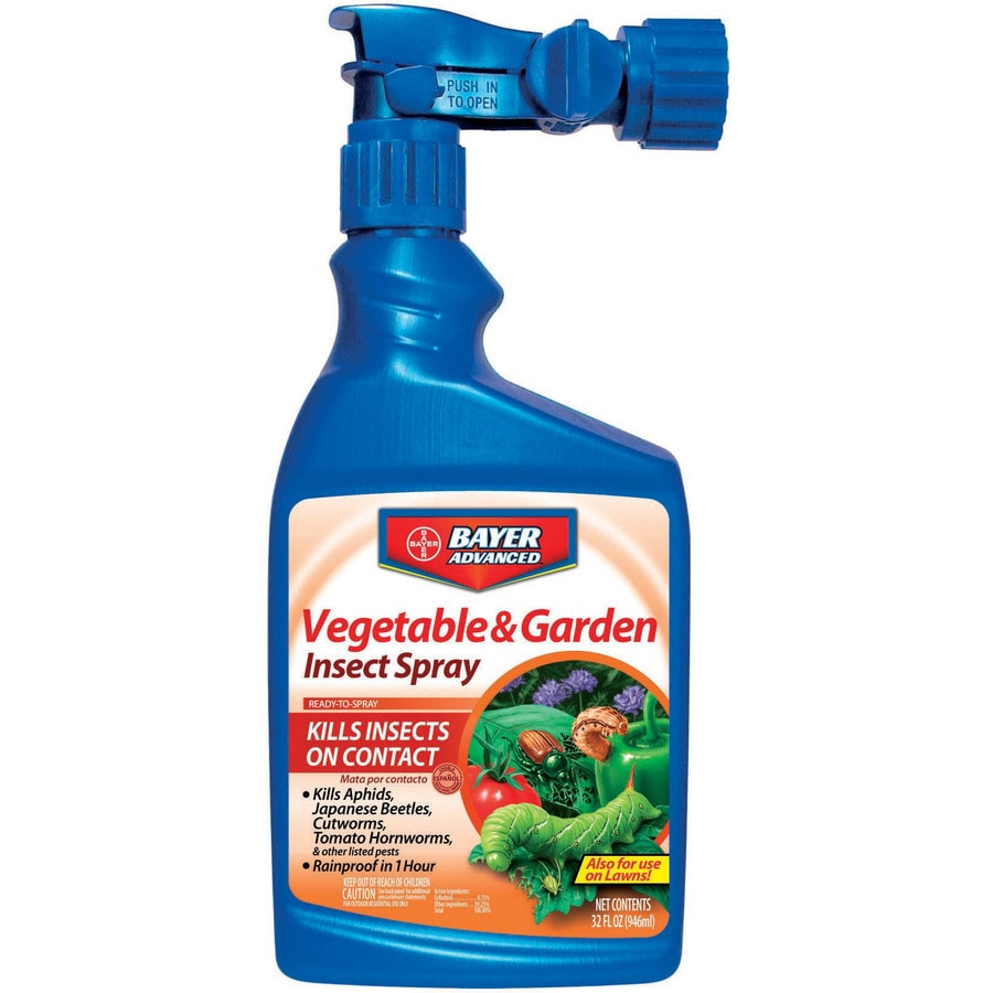 BAYER ADVANCED Ready-to-Spray Vegetable and Garden Insect Liquid