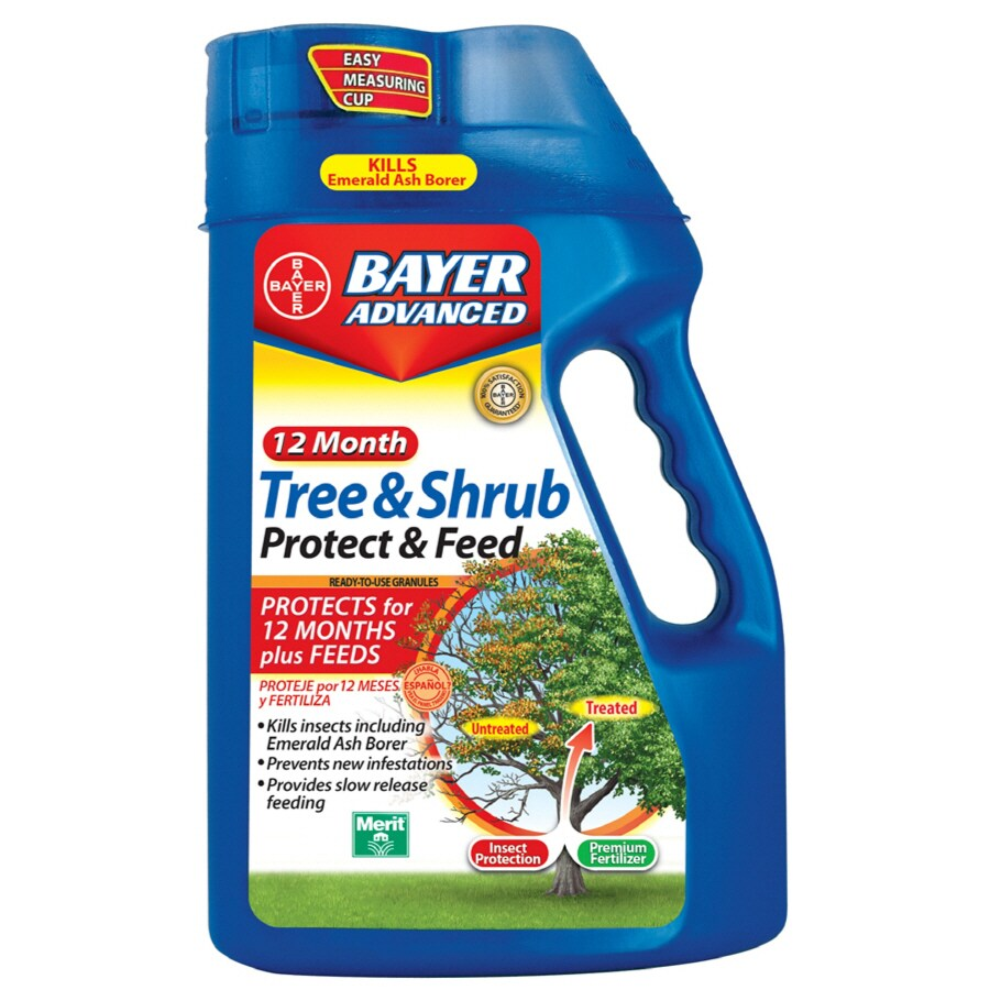 BAYER ADVANCED 4-lb Granules 12 Month Tree & Shrub Protect & Feed Granules