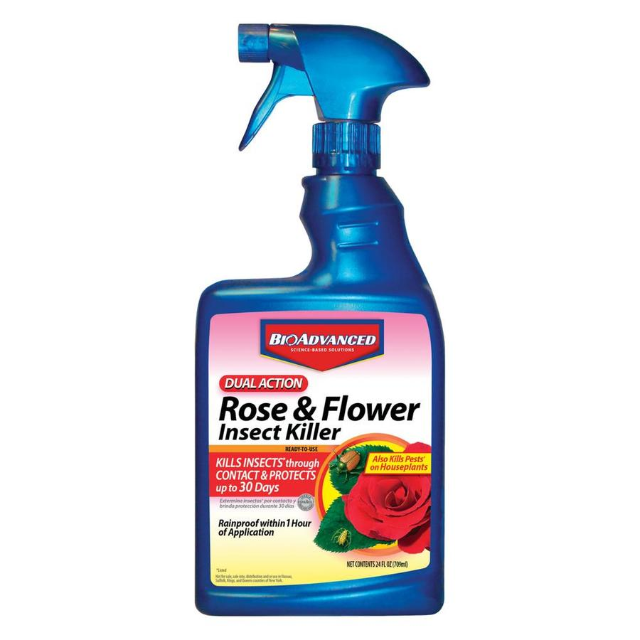 BAYER ADVANCED Ready-to-Use Dual Action Rose and Flower Insect Killer
