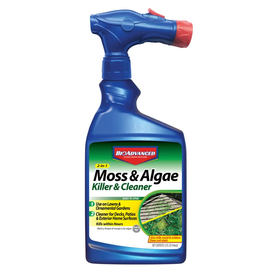 BAYER ADVANCED 32-oz Ready-To-Use Liquid Moss and Algae Control