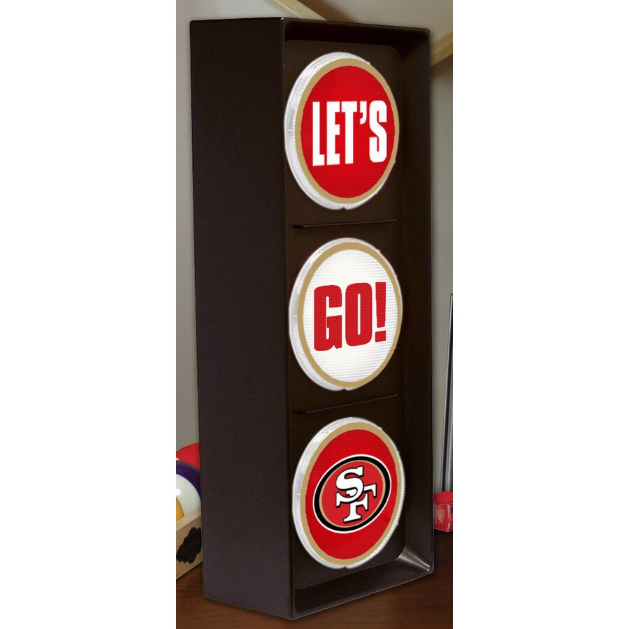 The Memory Company 16-in San Francisco 49Ers Light