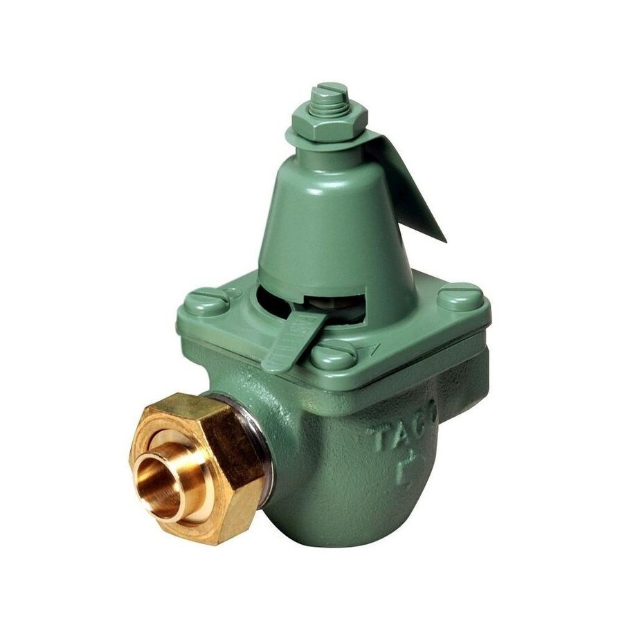 FloorHeat 4.5-in x 2.75-in Green Valve