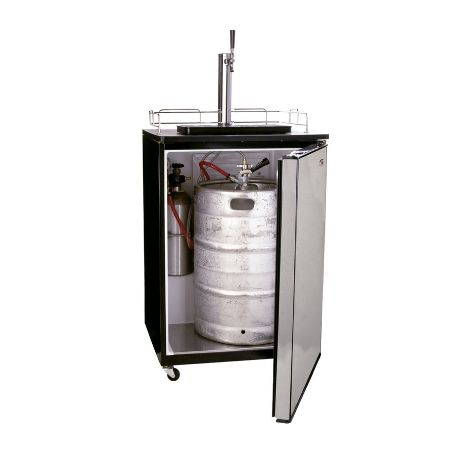 Haier Single Tap Brewmaster Stainless Steel Freestanding Kegerator