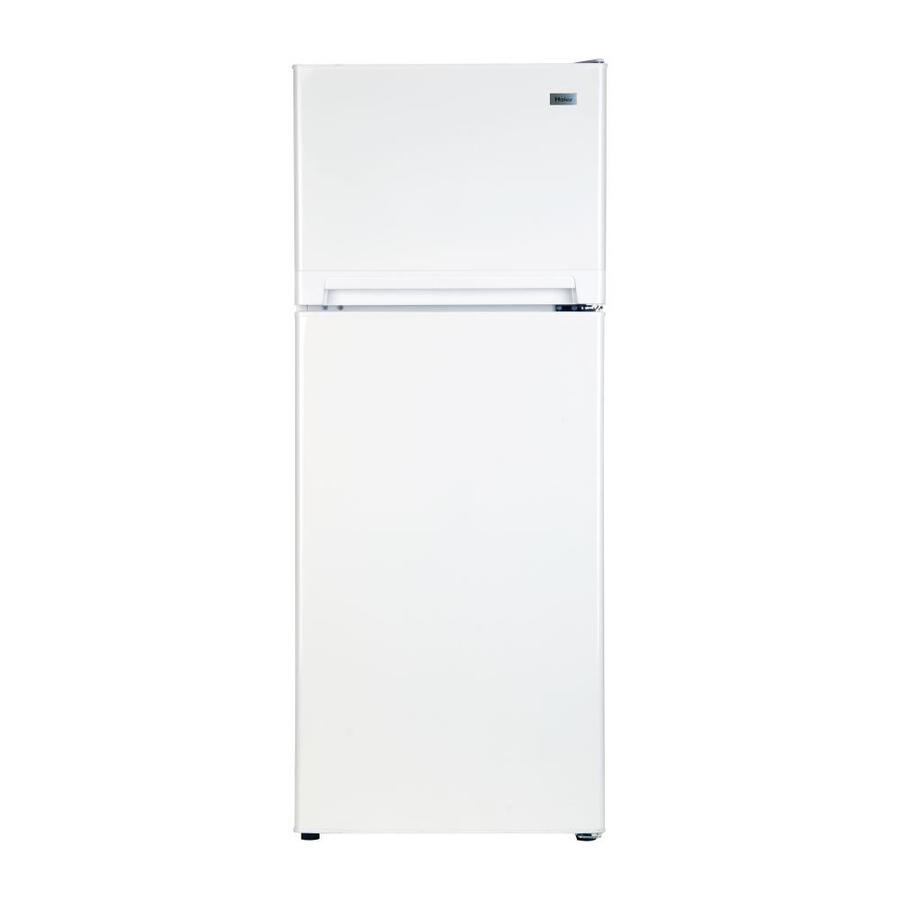 Haier 10.11-cu ft Top-Freezer Refrigerator (White)