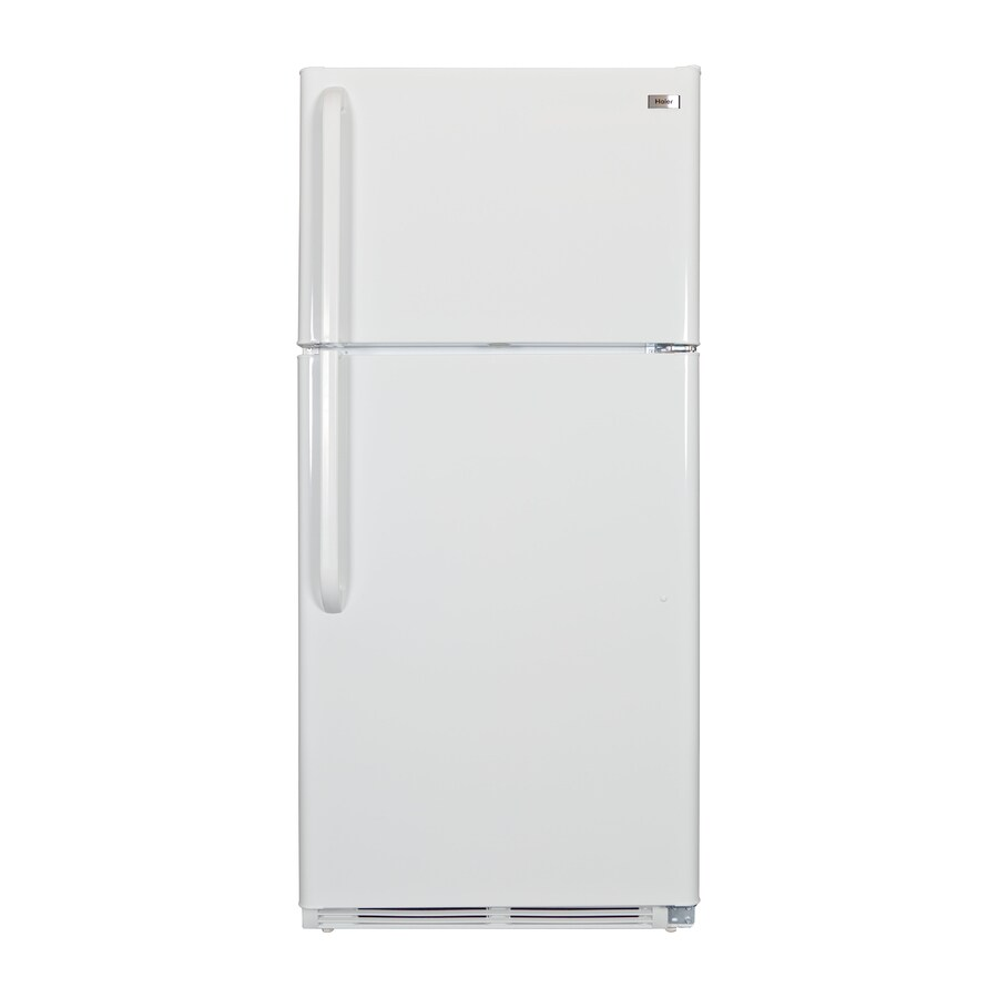 Haier 20.6-cu ft Top-Freezer Refrigerator (White) ENERGY STAR