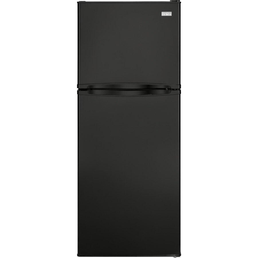 47cm Haden HT105W Fridge Freezer White Freestanding Refrigerator with Top Mount Freezer 112 Litre