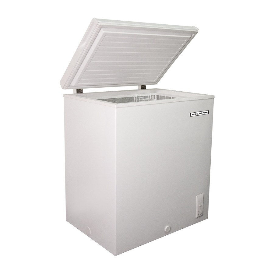 Holiday 5-cu ft Chest Freezer (White)
