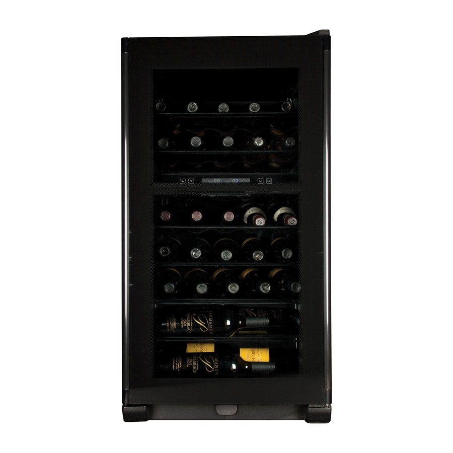 Haier 40-Bottle Compressor Dual Zone Wine Cellar