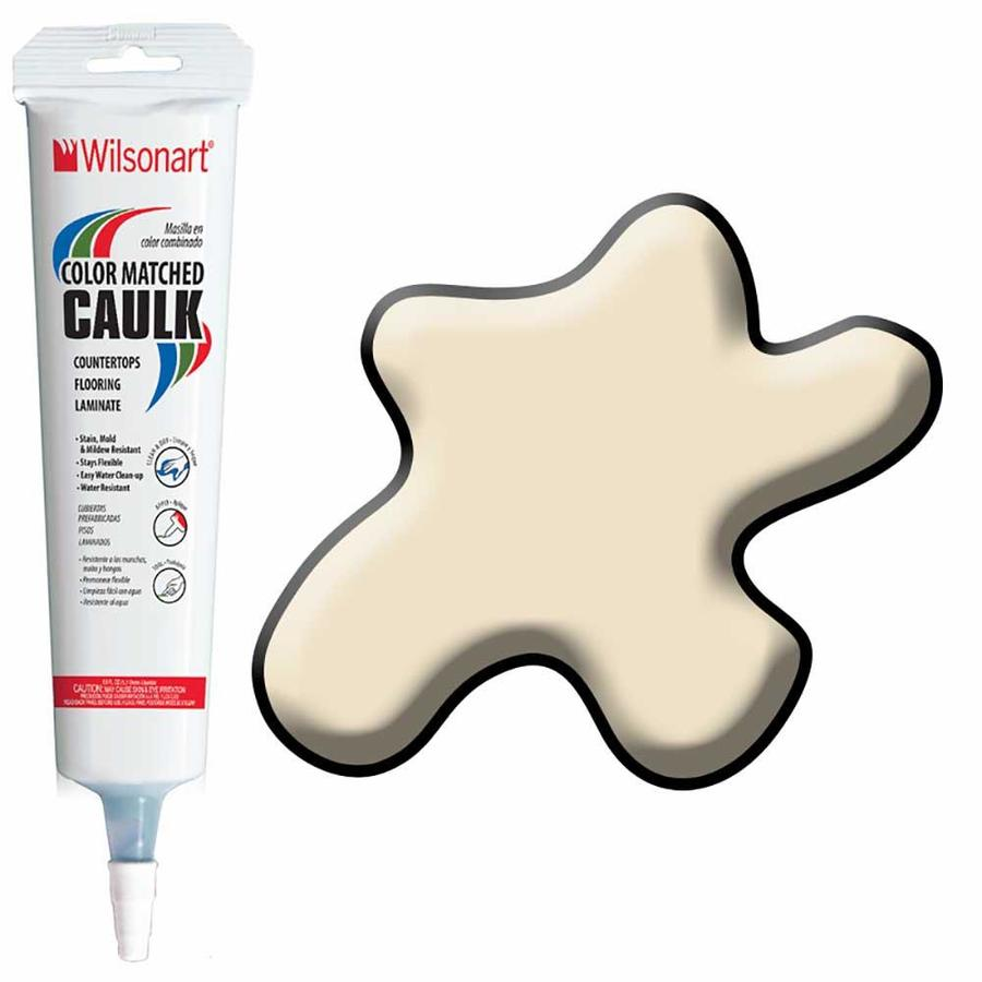 Wilsonart 5-oz Desert Zephyr Paintable Siliconized Acrylic Kitchen and Bathroom Caulk