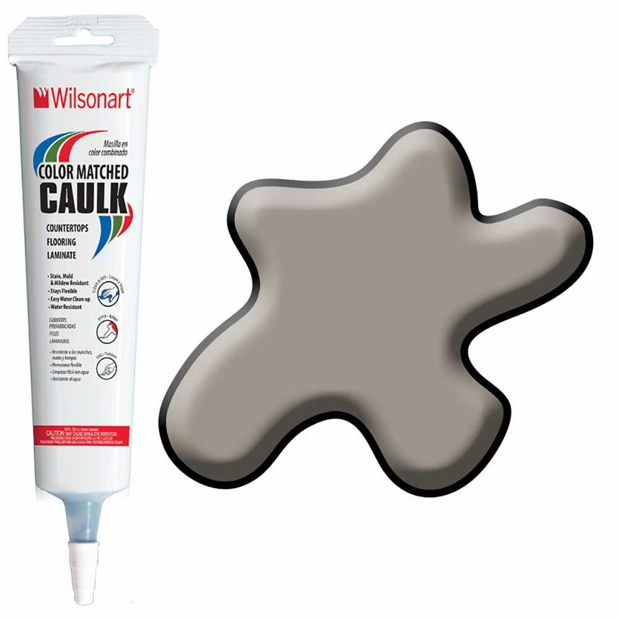 Wilsonart 5-oz Pepperdust Paintable Siliconized Acrylic Kitchen and Bathroom Caulk