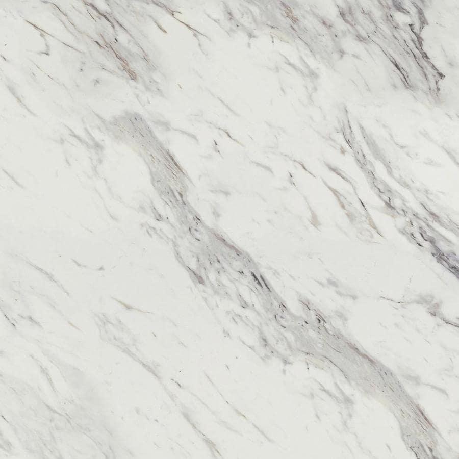 Wilsonart 48-in x 96-in Calcutta Marble Laminate Kitchen Countertop Sheet