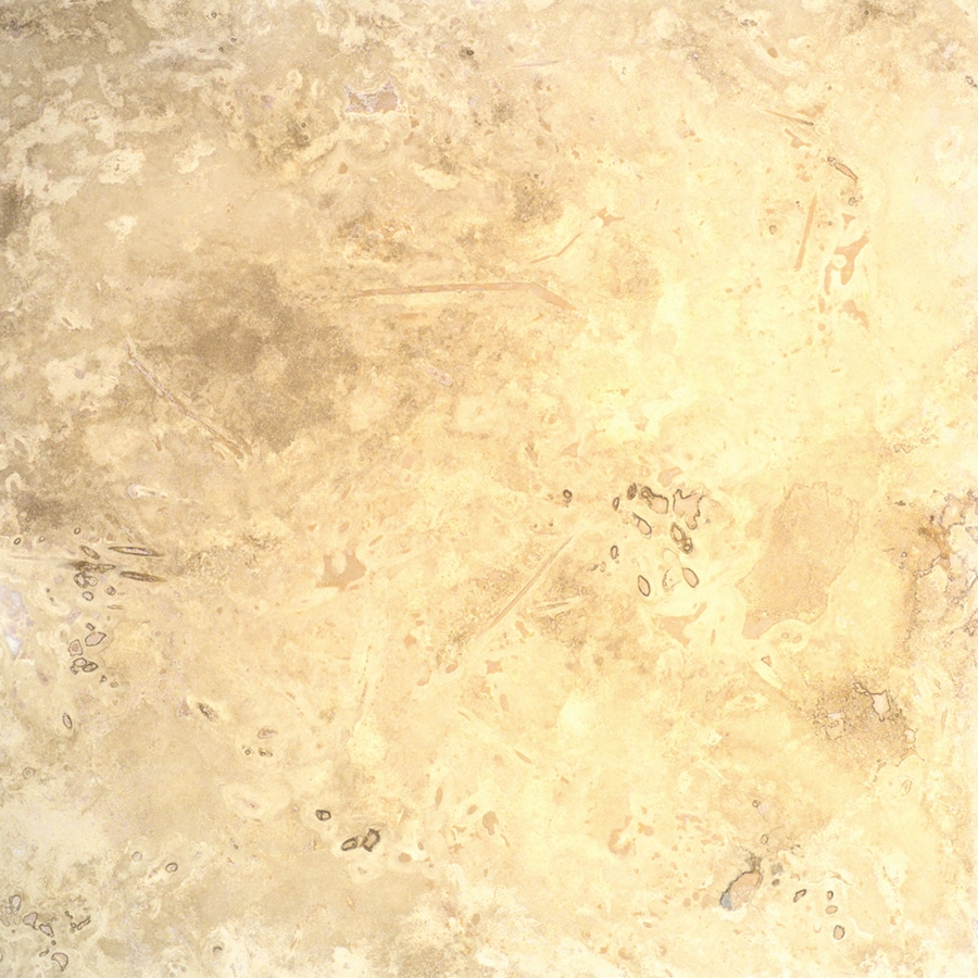 Bedrosians 12-in x 12-in Ivory Travertine Floor Tile