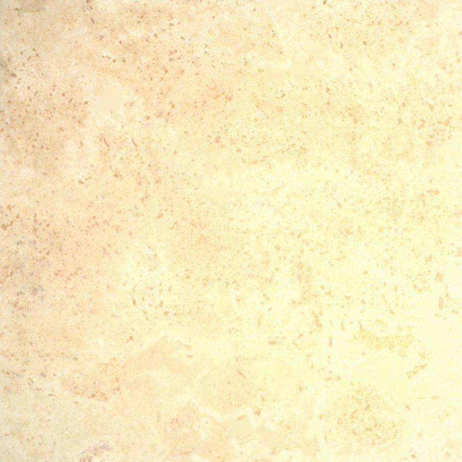 Bedrosians 16-in x 16-in Ivory Travertine Floor Tile