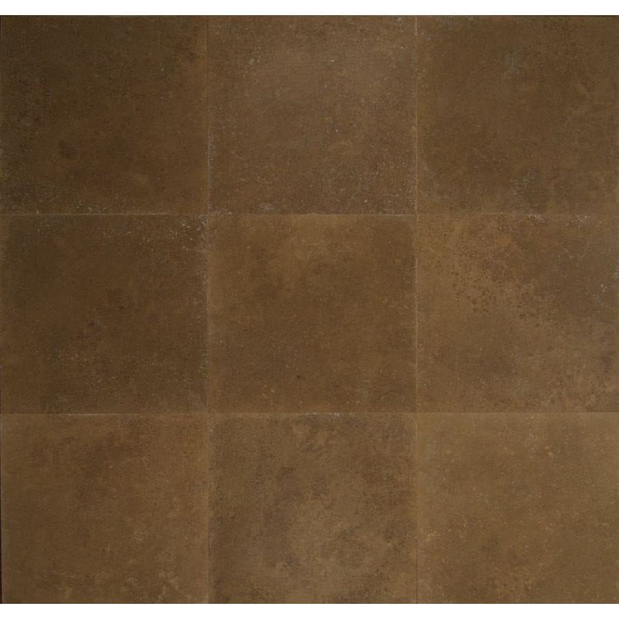 Bedrosians 18-in x 18-in Noce Travertine Floor Tile