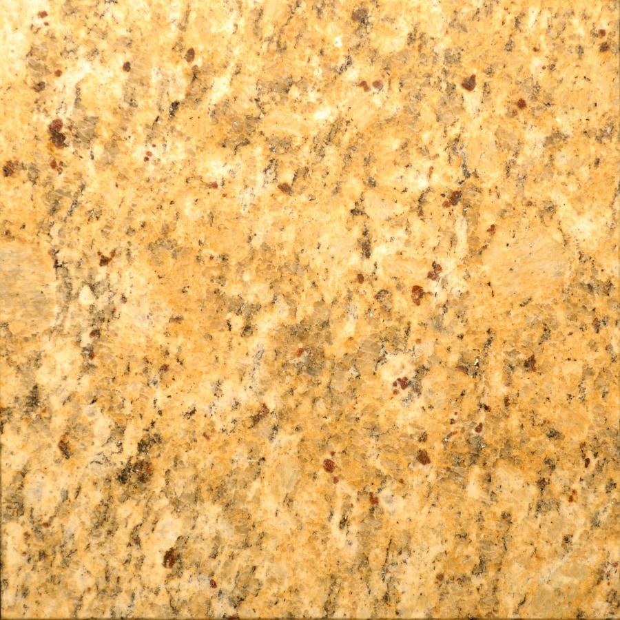 Bedrosians 12-in x 12-in Gold Granite Floor Tile