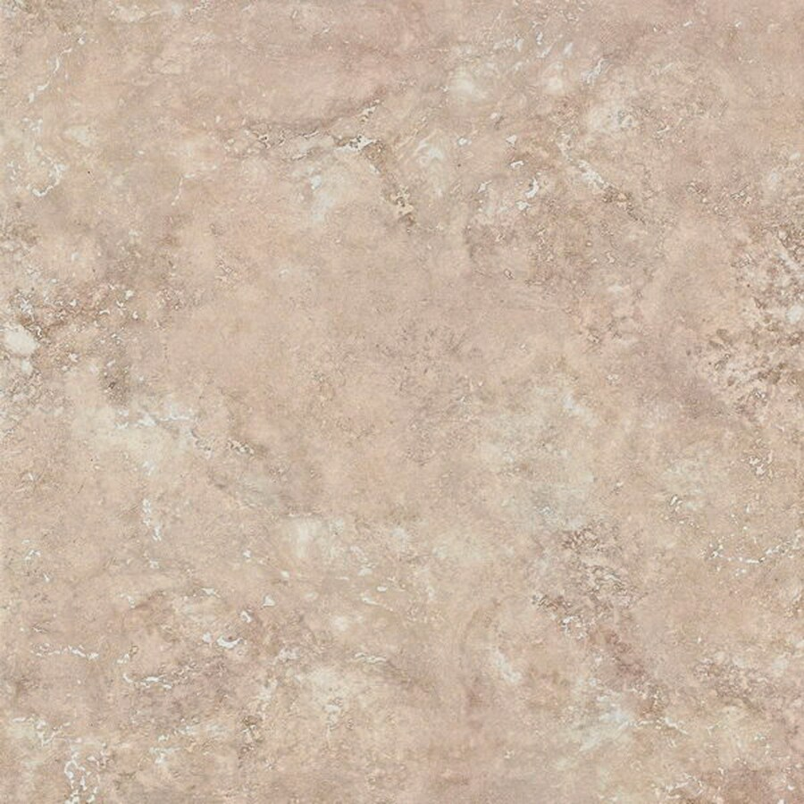 Bedrosians 6-Pack Roma Almond Glazed Porcelain Indoor/Outdoor Floor Tile (Common: 20-in x 20-in; Actual: 19.68-in x 19.68-in)
