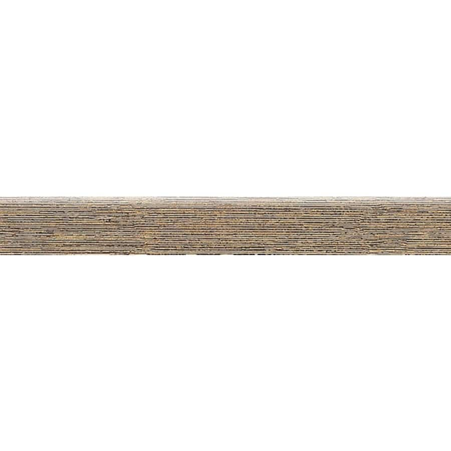 Bedrosians Silk Road Cashmere Porcelain Bullnose Tile (Common: 3-in x 20-in; Actual: 2.75-in x 19.75-in)