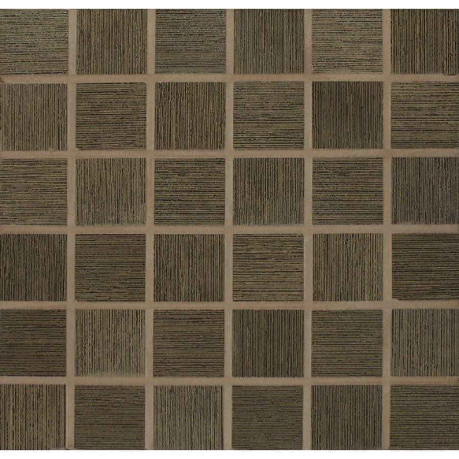 Bedrosians Silk Road Cashmere Glazed Porcelain Mosaic Square Indoor/Outdoor Floor Tile (Common: 13-in x 13-in; Actual: 12.875-in x 12.875-in)