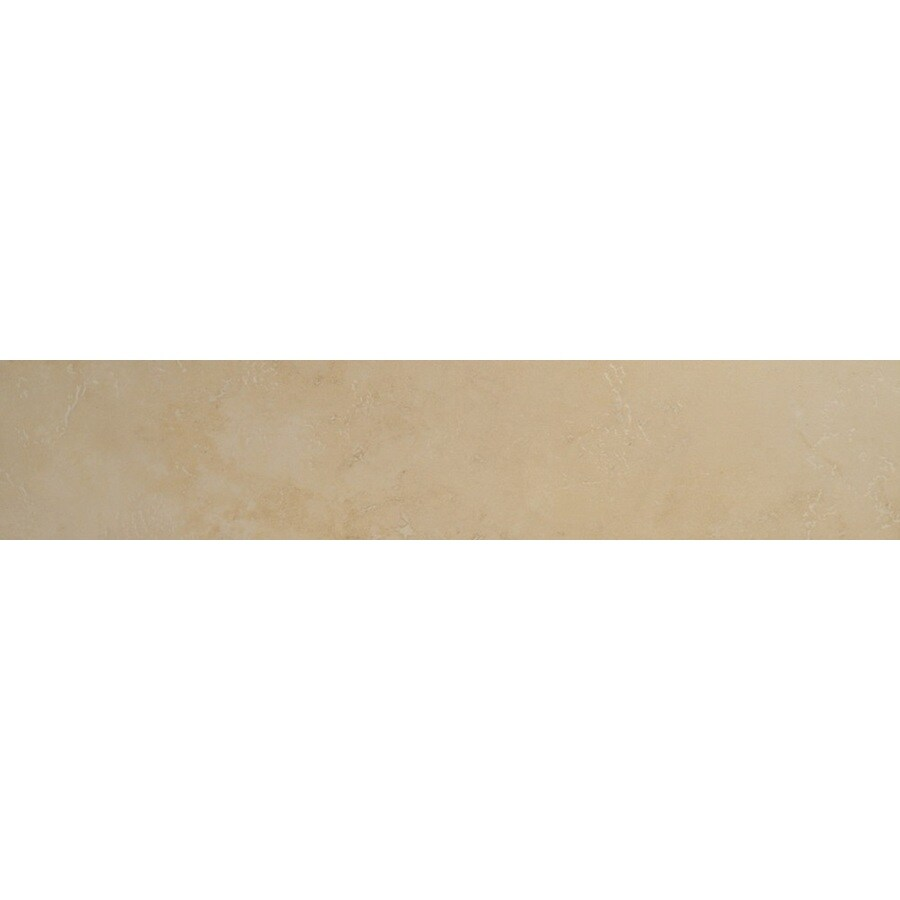 Bedrosians Verona Almond Porcelain Bullnose Tile (Common: 3-in x 20-in; Actual: 2.75-in x 19.75-in)