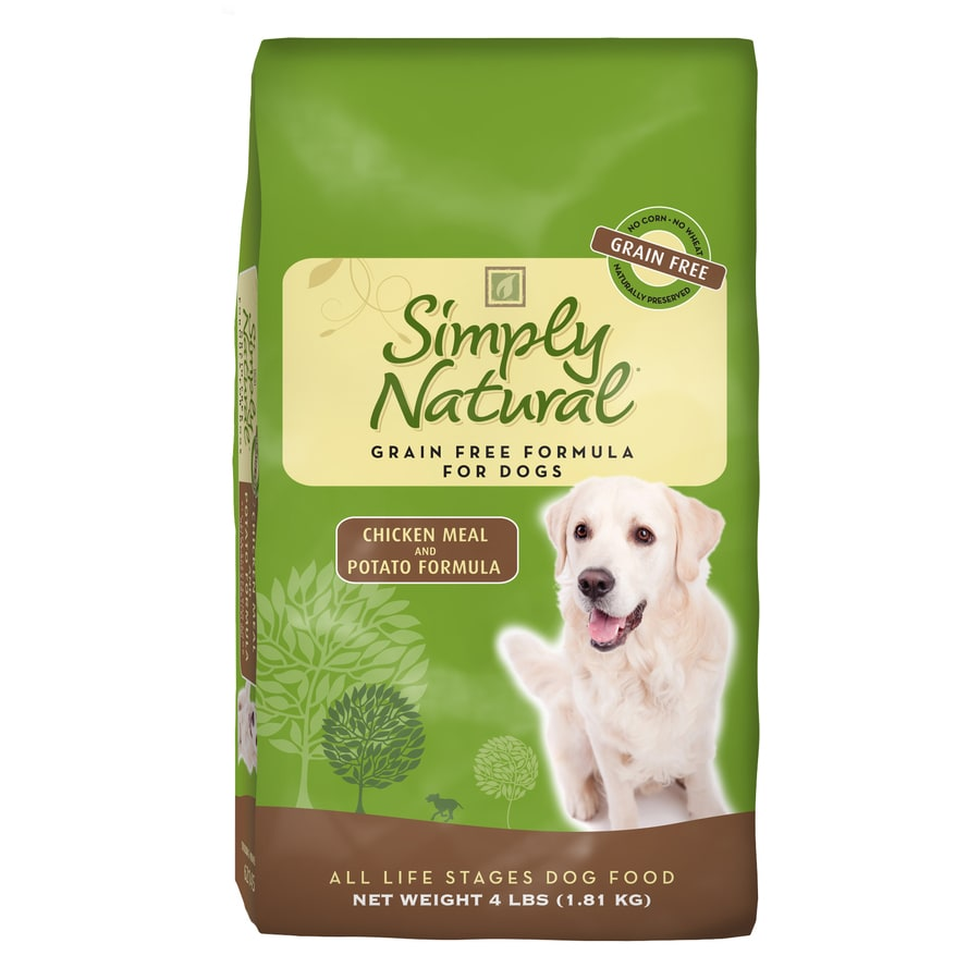 Simply Natural 4-lbs Chicken Meal and Potato Formula All-Natural Adult Dog Food
