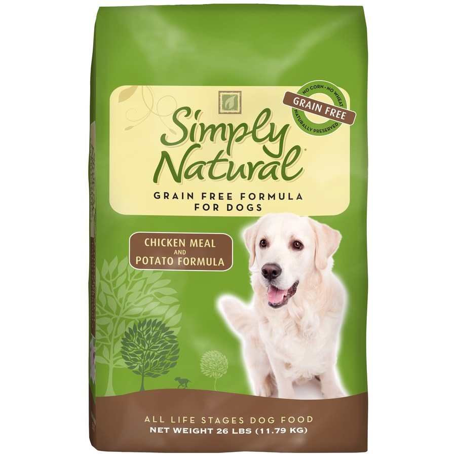 Simply Natural 26-lbs Chicken Meal and Potato Formula All-Natural Adult Dog Food