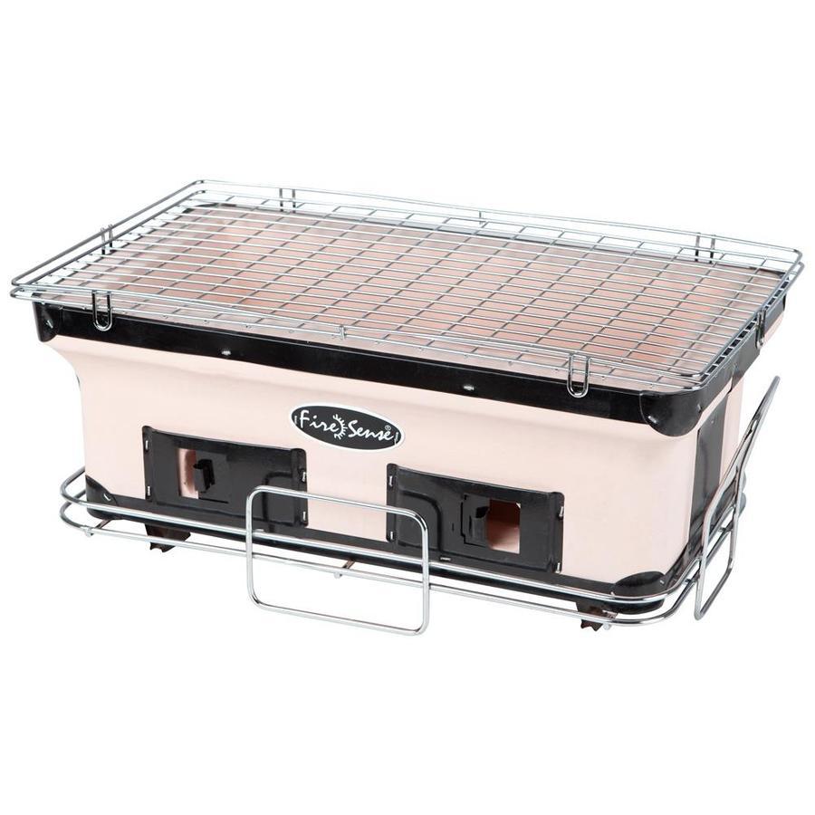 Fire Sense 181.6-sq in Tan Portable Charcoal Grill