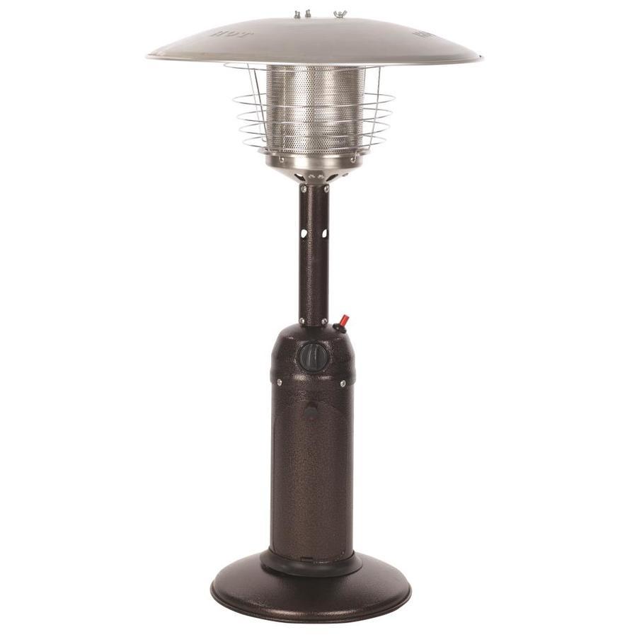 Fire Sense 10,000-BTU Bronze Steel Tabletop Liquid Propane Patio Heater
