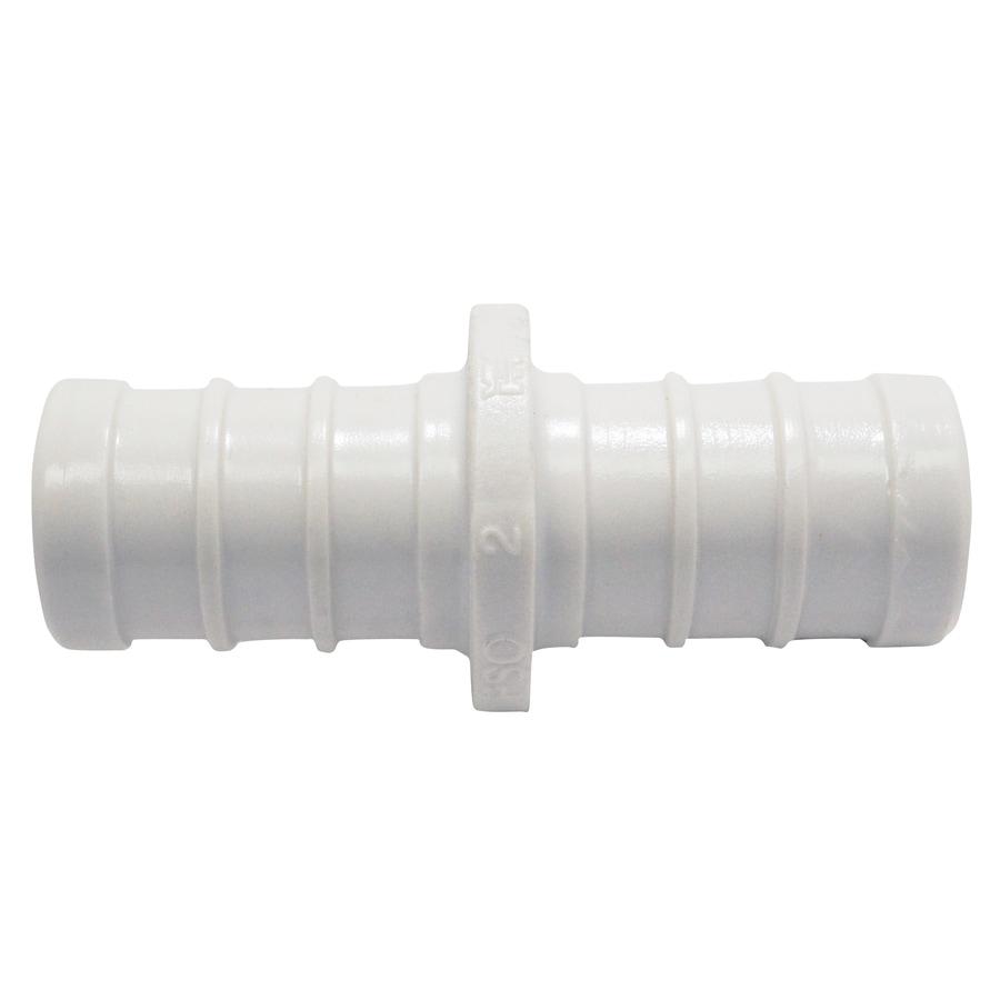 Shop apollo 2 pack 1 2 in dia brass plastic pex coupling for Plastic water pipe pex