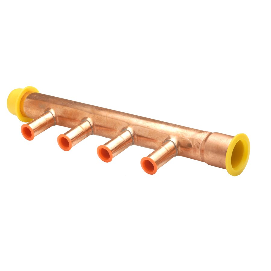 Apollo Hydronic 4-Outlet Baseboard Heater Manifold