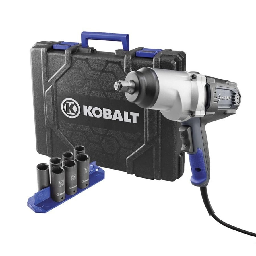 Shop Kobalt 8 Amp 1 2 In Corded Impact Wrench At Lowes Com