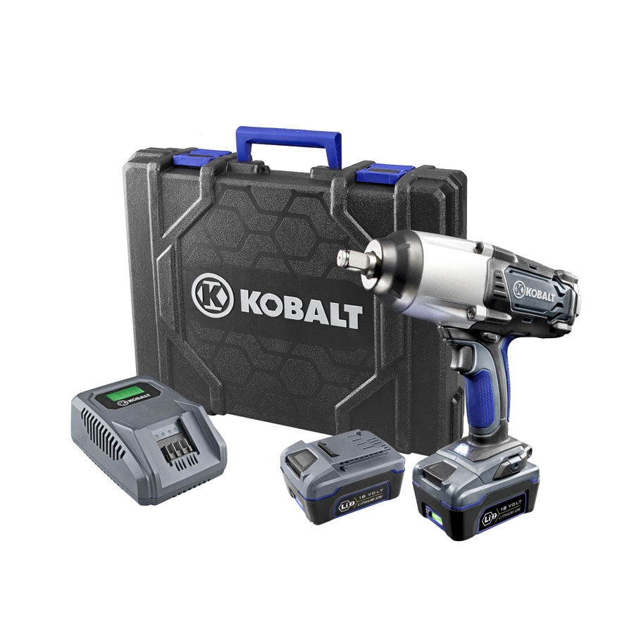 Kobalt 18-Volt 1/2-in Drive Cordless Impact Wrench