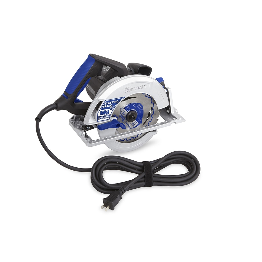 Kobalt 15-Amp 7-1/4-In Magnesium Corded Circular Saw with Brake