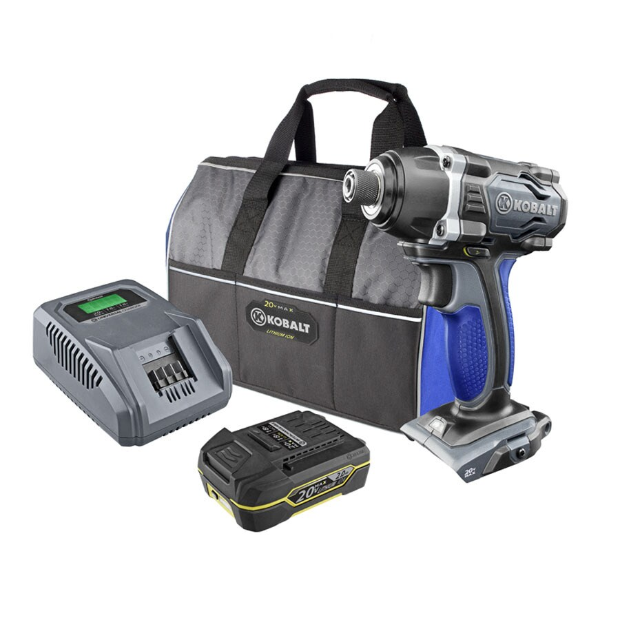 Kobalt 20-Volt 1/4-in Cordless Variable Speed Impact Driver with Soft Case