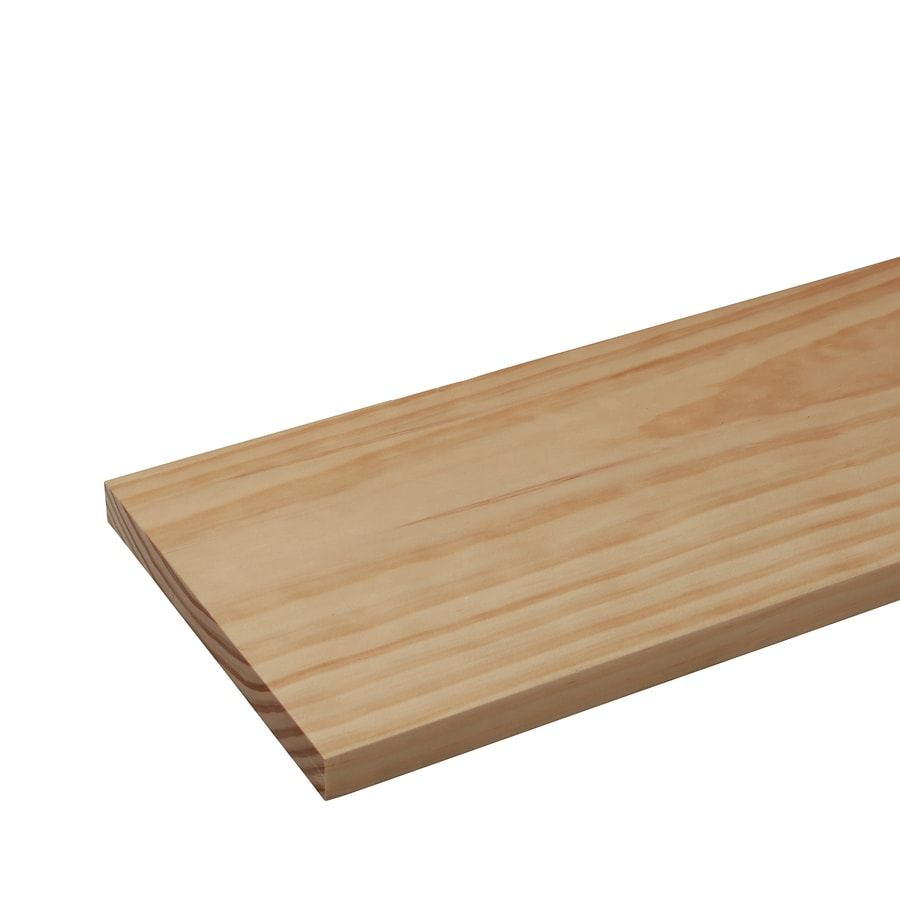 Pine Board (Common: 1-in x 8-in x 4-ft; Actual: 0.75-in x 7.25-in x 4-ft)