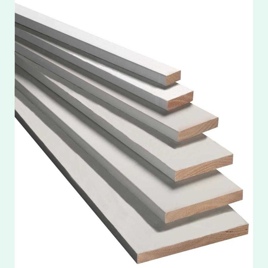 Armour Wood Finger-Joint Pressure Treated Primed Spruce/Pine-Fir Board (Common: 1-in x 5-in x 8-ft; Actual: 0.75-in x 4.5-in x 8-ft)
