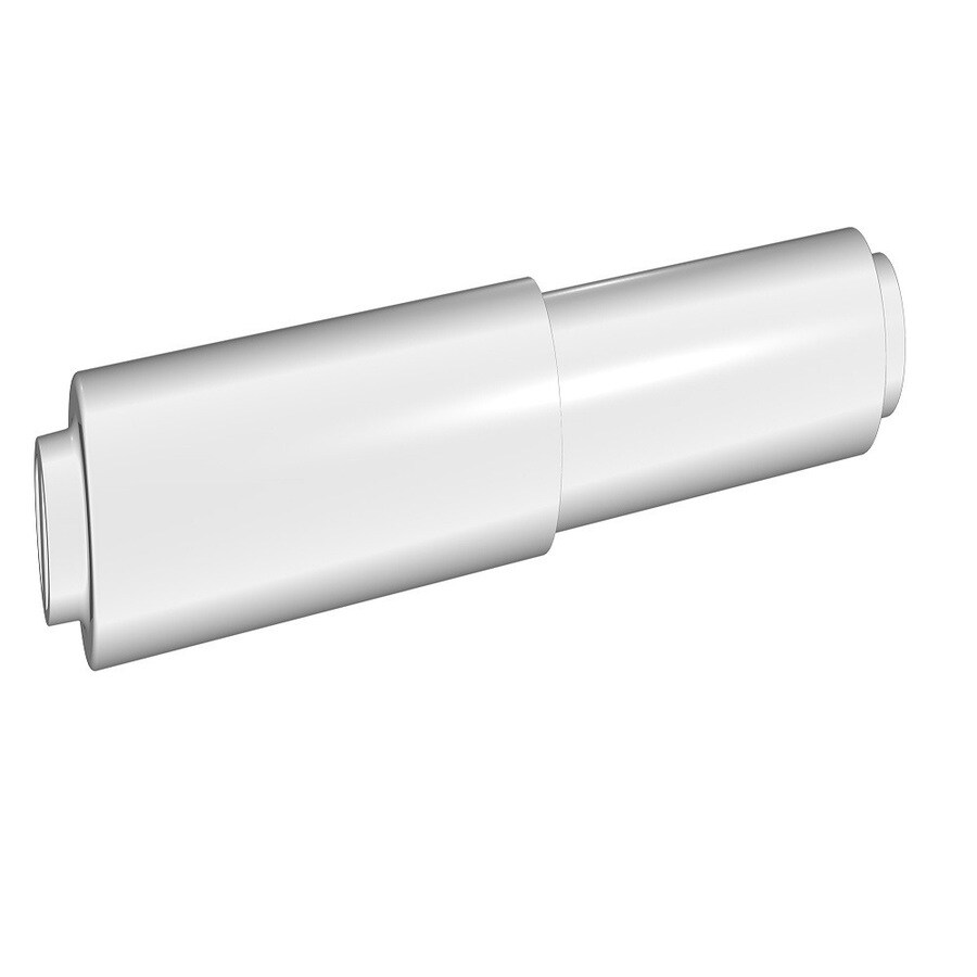 Project Source Seton White Surface Mount Replacement Roller Toilet Paper Holder
