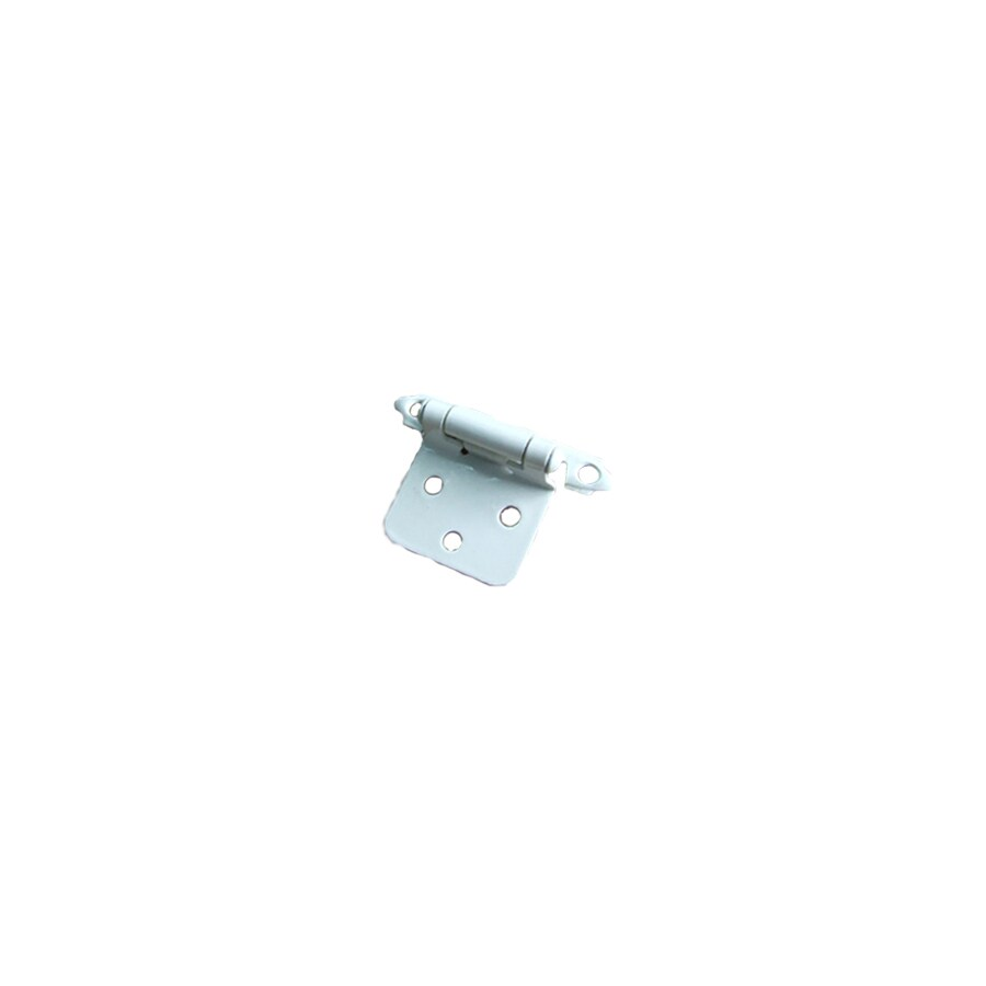 Gatehouse 2-Pack 2-3/4-in x 1-7/8-in White Self-Closing Cabinet Hinges