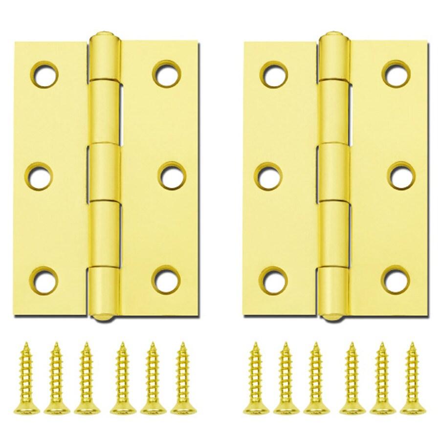 Gatehouse Brass-Plated Door Hinge