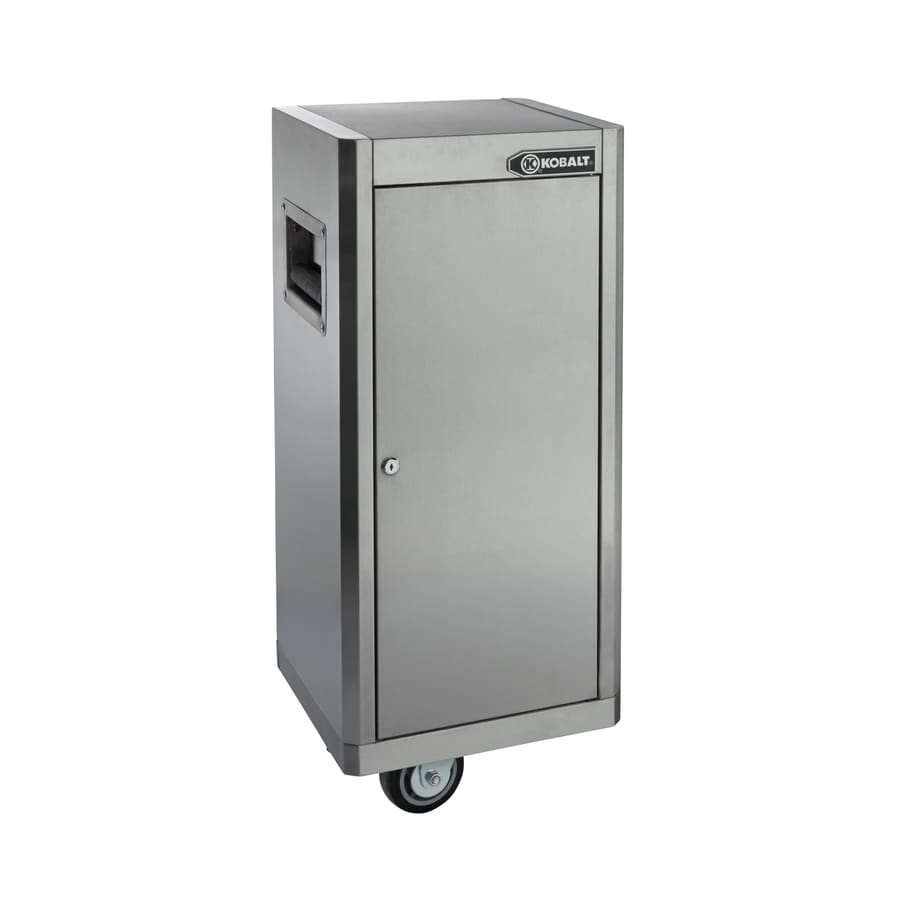 Kobalt 41-in x 16-in Ball-Bearing Stainless Steel Tool Cabinet