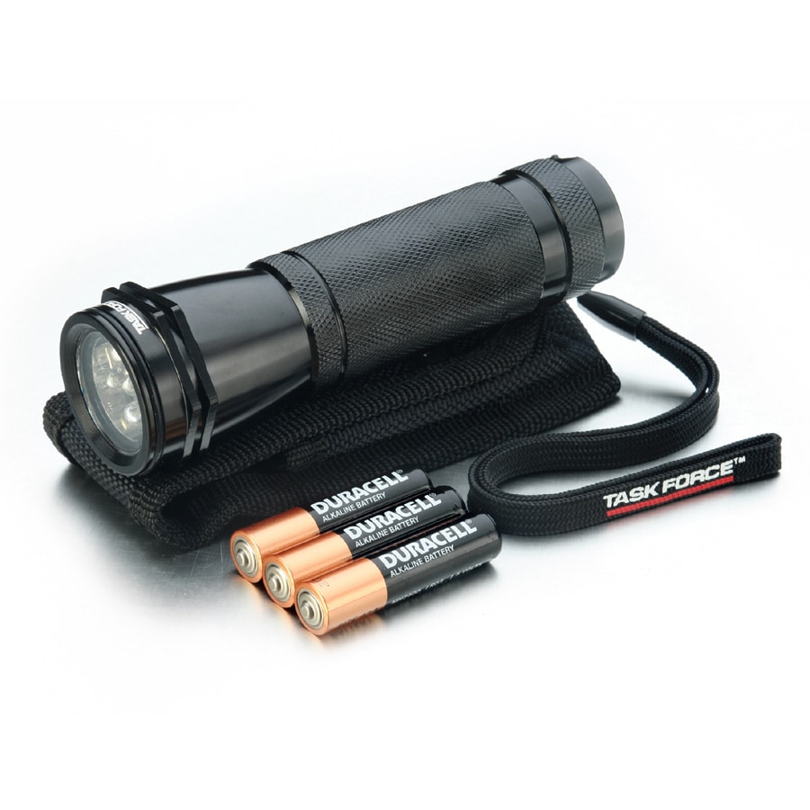 Utilitech 65-Lumen LED Handheld Battery Flashlight