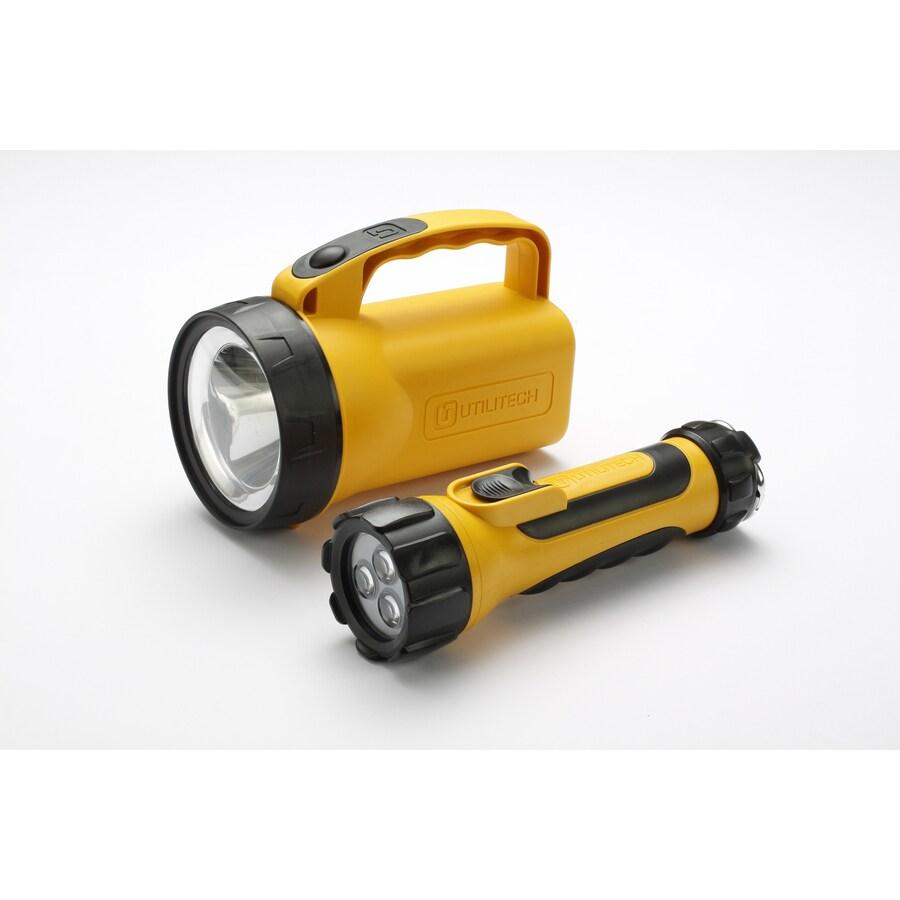 Utilitech 60-Lumen LED Handheld Battery Flashlight