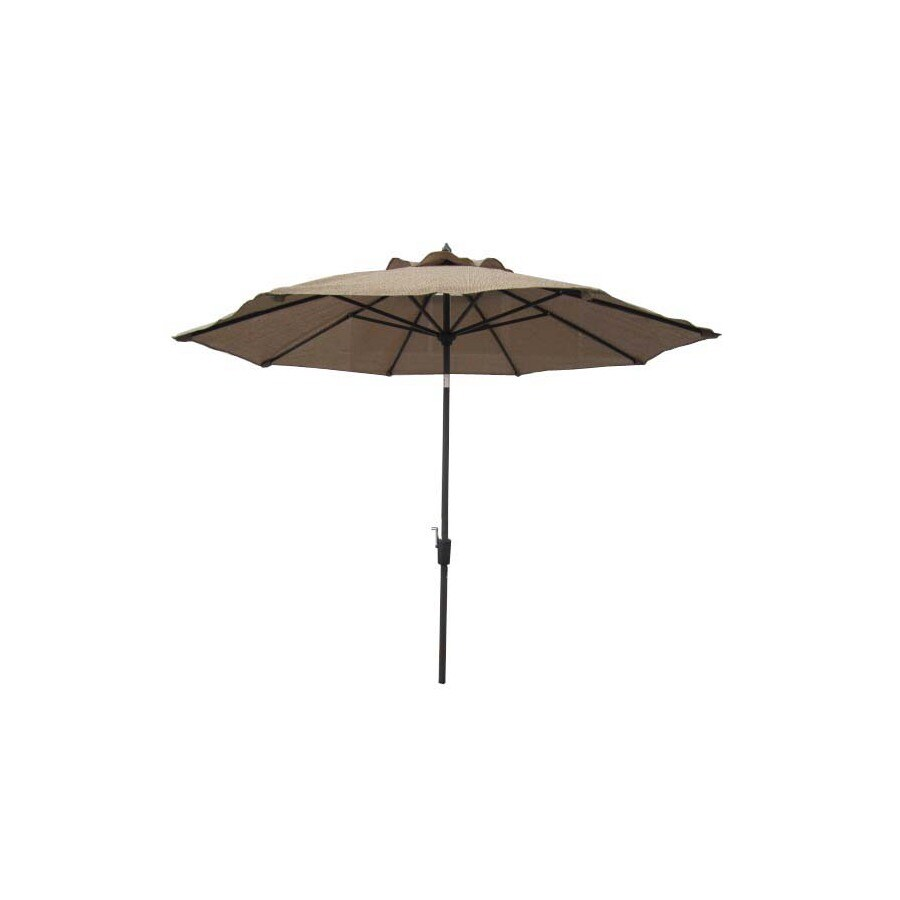 Garden Treasures Patio Umbrella (Common: 106-in W x 106-in L; Actual: 106-in W x 106-in L)
